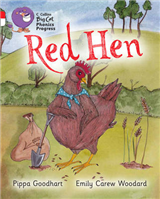 Red Hen: Band 02A Red A/Band 10 White (Collins Big Cat Phonics Progress)