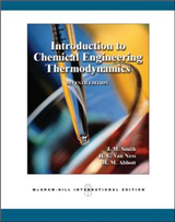 Introduction to Chemical Engineering Thermodynamics (Int'l E