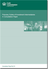 Fiduciary Duties of Investments Intermediaries: A Consultation Paper