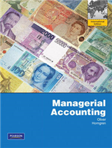 Managerial Accounting: International Edition