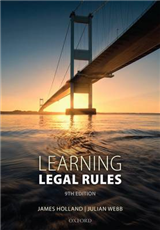 Learning Legal Rules