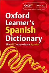 OCR Oxford Learner\'s Spanish Dictionary