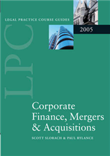 LPC Corporate Finance, Mergers and Acquisitions 2005