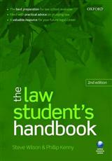 Law Student's Handbook