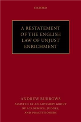 A Restatement of the English Law of Unjust Enrichment