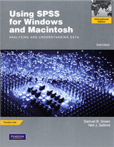 Using SPSS for Windows and Macintosh: Analyzing and Understanding Data: International Edition