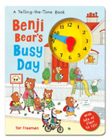 Benji Bear's Busy Day: A Telling the Time Book