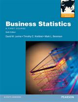 Business Statistics with MyMathLab Global: International Editions