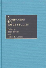 A Companion to Joyce Studies