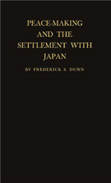 Peacemaking and the Settlement with Japan