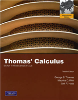 Thomas\' Calculus Early Transcendentals: International Edition