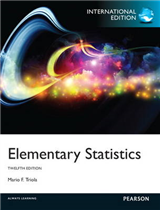 Elementary Statistics: International Edition