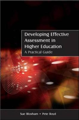 Developing Effective Assessment in Higher Education: A Pract
