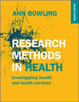 Research Methods in Health: Investigating Health and Health