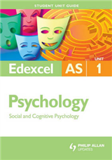 Edexcel Psychology: Social and Cognitive Psychology: Unit 1
