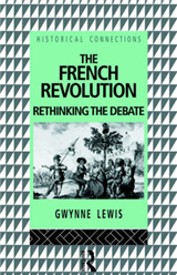 The French Revolution: Rethinking the Debate