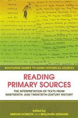 Reading Primary Sources