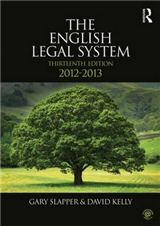 The English Legal System: 2012-2013