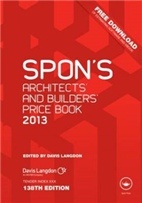 Spon\'s Architects\' and Builders\' Price Book: 2013