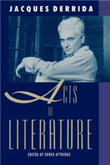 Acts of Literature