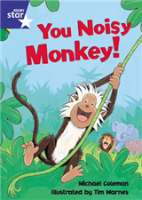 Star Shared: Reception, You Noisy Monkey Big Book