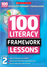100 New Literacy Framework Lessons for Year 2 with CD-Rom