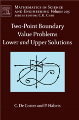 Two-Point Boundary Value Problems: Lower and Upper Solutions
