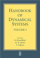 Handbook of Dynamical Systems: v. 3