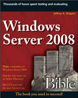 Windows Server 2008 Bible