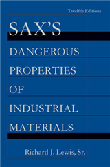 Sax\'s Dangerous Properties of Industrial Materials: 5 Volume Set