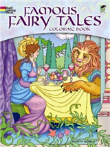 Famous Fairy Tales Coloring Book