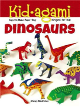 Kid-agami -- Dinosaurs: Kiragami for Kids: Easy-to-Make Paper Toys