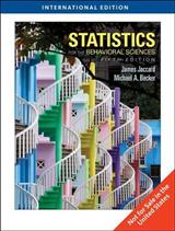 Statistics for the Behavioral Sciences, International Editio