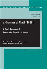 A Grammar of Nzadi [B865]: A Bantu language of Democratic Republic of Congo