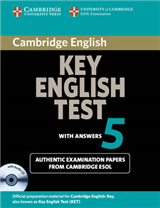 KET Practice Tests: Cambridge Key English Test 5 Self Study Pack (Student\'s Book with answers and Audio CD): Official Examination Papers from University of Cambridge ESOL Examinations