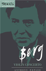 Cambridge Music Handbooks: Berg: Violin Concerto
