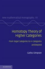 New Mathematical Monographs