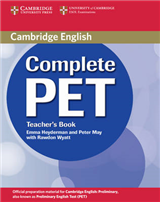 Complete PET Teacher's Book