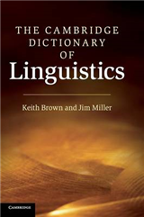 Cambridge Dictionary of Linguistics