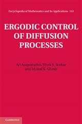 Ergodic Control of Diffusion Processes