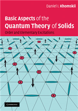 Basic Aspects of the Quantum Theory of Solids: Order and Elementary Excitations