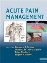 Acute Pain Management