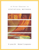 A First Course in Statistical Methods