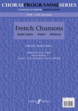 French Chansons: SATB Accompanied