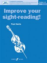 Improve Your Sight-Reading! Cello Grades 1-3 NEW EDITION!