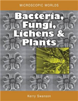 Microscopic Worlds Volume 3: Bacteria Fungi Lichens and Plants