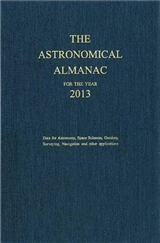 The Astronomical Almanac: 2013