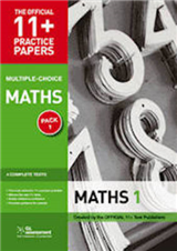 11+ Practice Papers, Maths Pack 2 (Multiple Choice): Maths Test 5, Maths Test 6, Maths Test 7, Maths Test 8