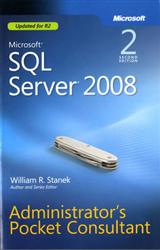 Microsoft SQL Server 2008 Administrator\'s Pocket Consultant