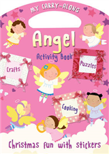 My Carry-along Angel Activity Book: Activity Book with Stickers